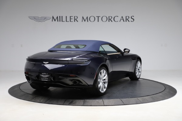New 2021 Aston Martin DB11 Volante Convertible for sale $274,916 at Rolls-Royce Motor Cars Greenwich in Greenwich CT 06830 25