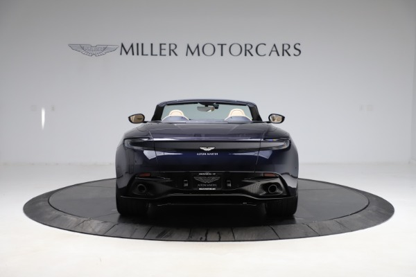 New 2021 Aston Martin DB11 Volante Convertible for sale $274,916 at Rolls-Royce Motor Cars Greenwich in Greenwich CT 06830 5