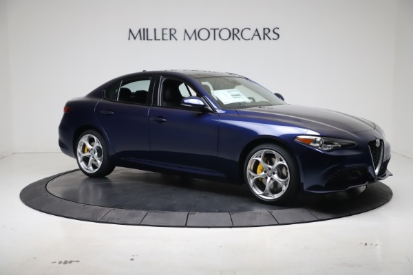 New 2021 Alfa Romeo Giulia Ti Sport Q4 for sale $52,100 at Rolls-Royce Motor Cars Greenwich in Greenwich CT 06830 10