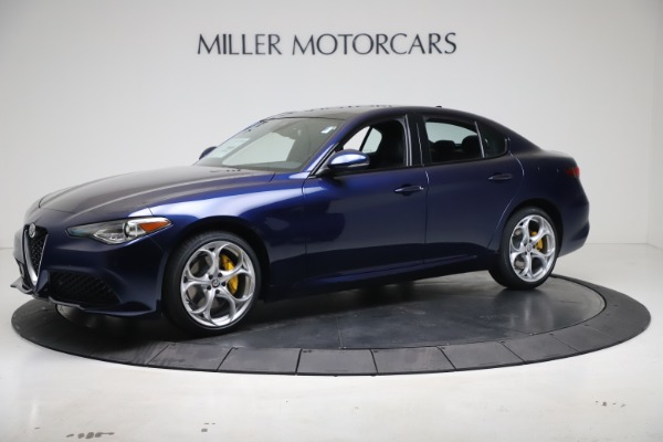 New 2021 Alfa Romeo Giulia Ti Sport Q4 for sale $52,100 at Rolls-Royce Motor Cars Greenwich in Greenwich CT 06830 2