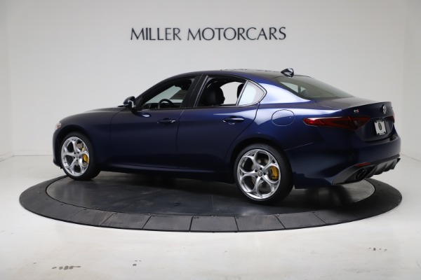 New 2021 Alfa Romeo Giulia Ti Sport Q4 for sale $52,100 at Rolls-Royce Motor Cars Greenwich in Greenwich CT 06830 4
