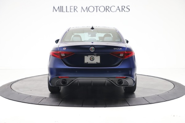 New 2021 Alfa Romeo Giulia Ti Sport Q4 for sale $52,100 at Rolls-Royce Motor Cars Greenwich in Greenwich CT 06830 6
