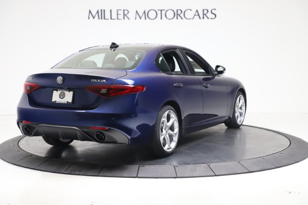 New 2021 Alfa Romeo Giulia Ti Sport Q4 for sale $52,100 at Rolls-Royce Motor Cars Greenwich in Greenwich CT 06830 7