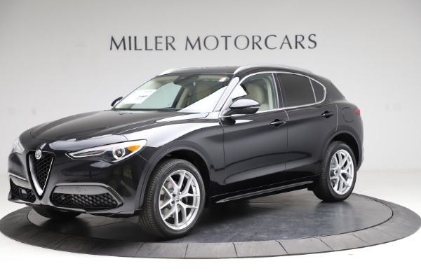 New 2021 Alfa Romeo Stelvio Ti Lusso Q4 for sale $57,750 at Rolls-Royce Motor Cars Greenwich in Greenwich CT 06830 2