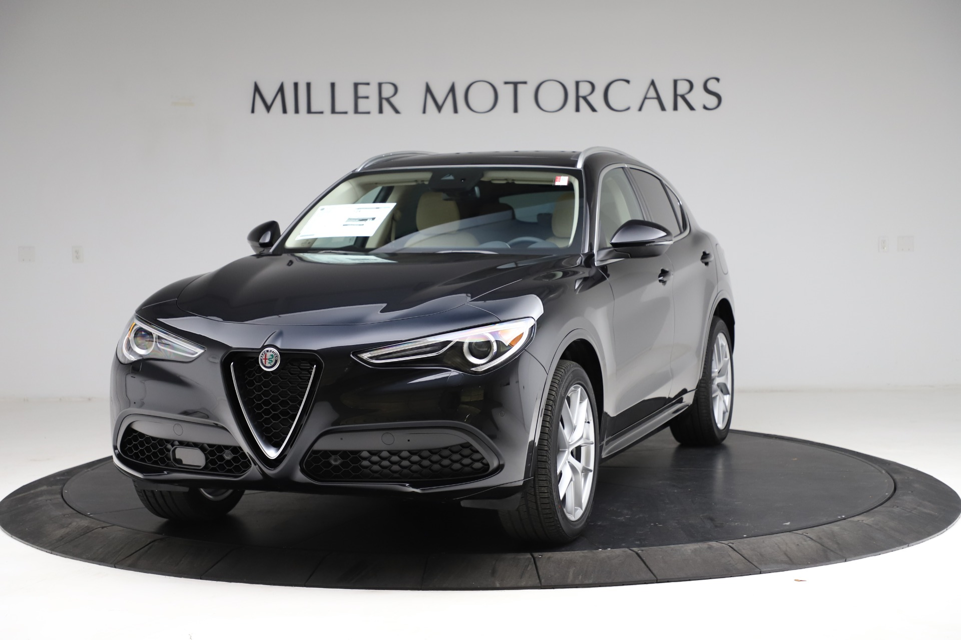 New 2021 Alfa Romeo Stelvio Ti Lusso Q4 for sale $57,750 at Rolls-Royce Motor Cars Greenwich in Greenwich CT 06830 1