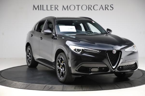 New 2021 Alfa Romeo Stelvio Ti Sport Q4 for sale $54,950 at Rolls-Royce Motor Cars Greenwich in Greenwich CT 06830 11