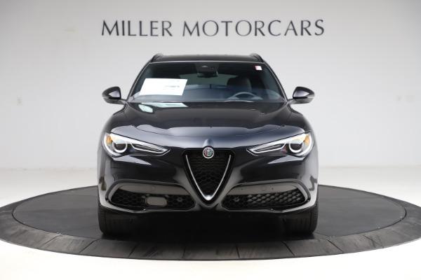 New 2021 Alfa Romeo Stelvio Ti Sport Q4 for sale $54,950 at Rolls-Royce Motor Cars Greenwich in Greenwich CT 06830 12