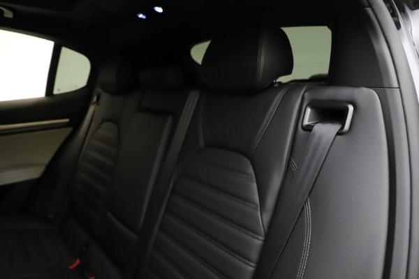 New 2021 Alfa Romeo Stelvio Ti Sport Q4 for sale $54,950 at Rolls-Royce Motor Cars Greenwich in Greenwich CT 06830 18