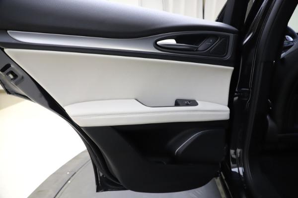 New 2021 Alfa Romeo Stelvio Ti Sport Q4 for sale $54,950 at Rolls-Royce Motor Cars Greenwich in Greenwich CT 06830 21