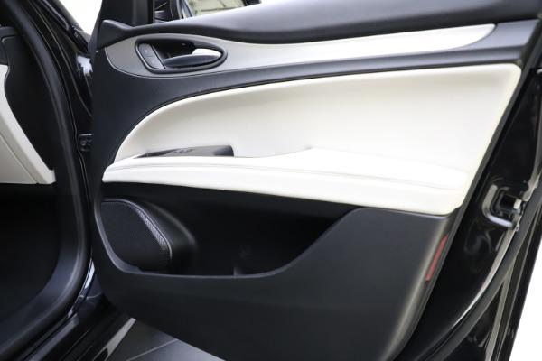 New 2021 Alfa Romeo Stelvio Ti Sport Q4 for sale $54,950 at Rolls-Royce Motor Cars Greenwich in Greenwich CT 06830 25