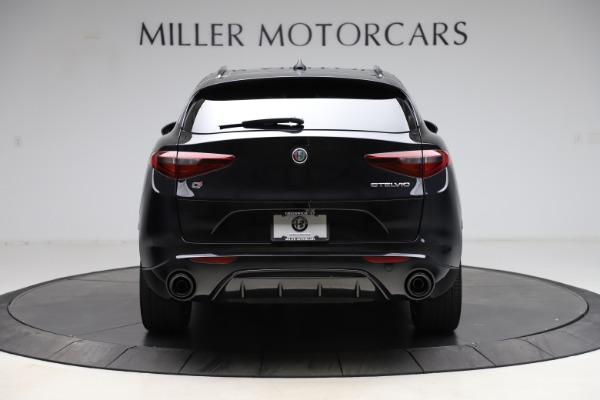 New 2021 Alfa Romeo Stelvio Ti Sport Q4 for sale $54,950 at Rolls-Royce Motor Cars Greenwich in Greenwich CT 06830 6
