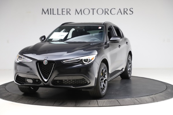New 2021 Alfa Romeo Stelvio Ti Sport Q4 for sale $54,950 at Rolls-Royce Motor Cars Greenwich in Greenwich CT 06830 1