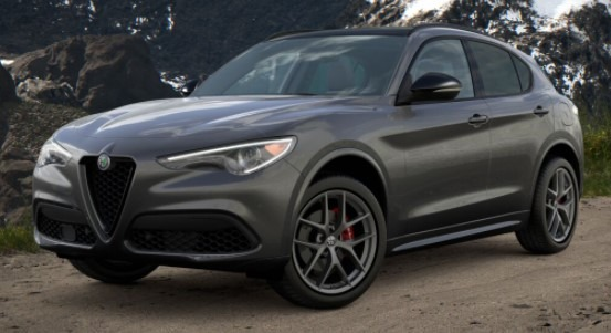 New 2021 Alfa Romeo Stelvio Ti Sport Q4 for sale $56,750 at Rolls-Royce Motor Cars Greenwich in Greenwich CT 06830 1