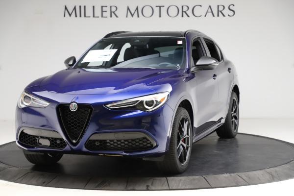 New 2021 Alfa Romeo Stelvio Ti Sport Q4 for sale $56,750 at Rolls-Royce Motor Cars Greenwich in Greenwich CT 06830 1