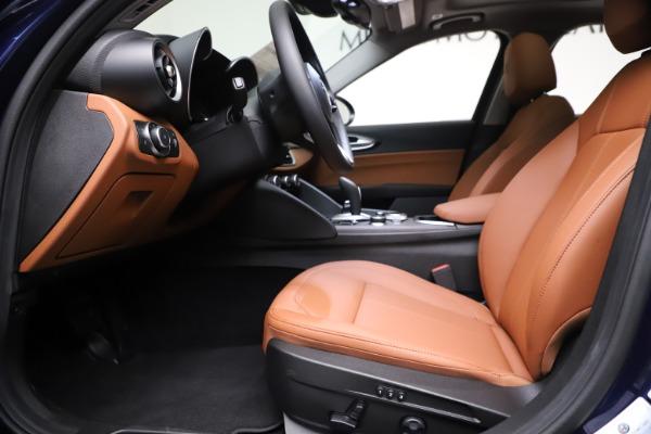 New 2021 Alfa Romeo Giulia Ti Q4 for sale $51,100 at Rolls-Royce Motor Cars Greenwich in Greenwich CT 06830 14