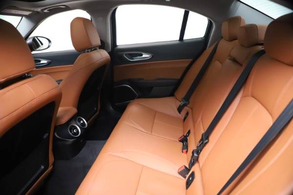 New 2021 Alfa Romeo Giulia Ti Q4 for sale $51,100 at Rolls-Royce Motor Cars Greenwich in Greenwich CT 06830 19