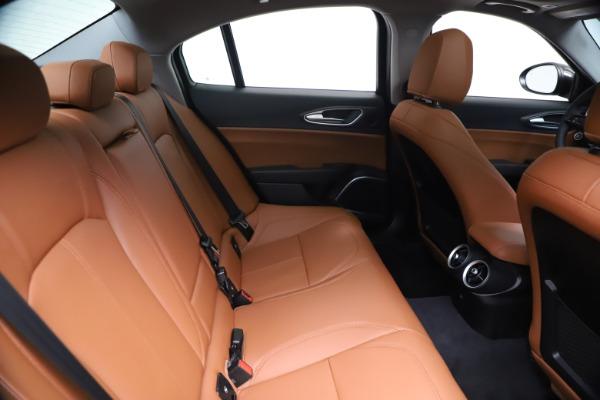 New 2021 Alfa Romeo Giulia Ti Q4 for sale $51,100 at Rolls-Royce Motor Cars Greenwich in Greenwich CT 06830 27