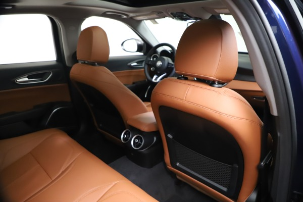 New 2021 Alfa Romeo Giulia Ti Q4 for sale $51,100 at Rolls-Royce Motor Cars Greenwich in Greenwich CT 06830 28