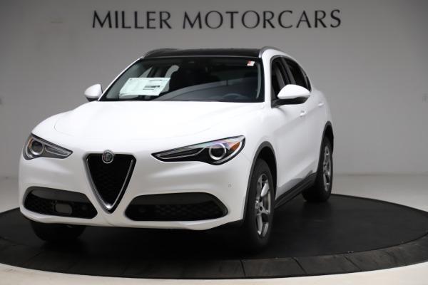 New 2021 Alfa Romeo Stelvio Q4 for sale $47,985 at Rolls-Royce Motor Cars Greenwich in Greenwich CT 06830 1