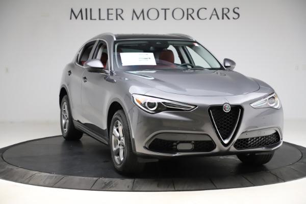 New 2021 Alfa Romeo Stelvio Q4 for sale $48,050 at Rolls-Royce Motor Cars Greenwich in Greenwich CT 06830 11