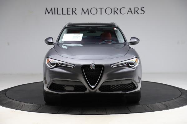 New 2021 Alfa Romeo Stelvio Q4 for sale $48,050 at Rolls-Royce Motor Cars Greenwich in Greenwich CT 06830 12