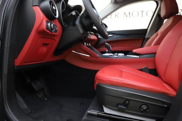 New 2021 Alfa Romeo Stelvio Q4 for sale $48,050 at Rolls-Royce Motor Cars Greenwich in Greenwich CT 06830 14