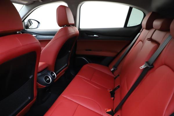 New 2021 Alfa Romeo Stelvio Q4 for sale $48,050 at Rolls-Royce Motor Cars Greenwich in Greenwich CT 06830 19