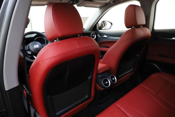 New 2021 Alfa Romeo Stelvio Q4 for sale $48,050 at Rolls-Royce Motor Cars Greenwich in Greenwich CT 06830 20
