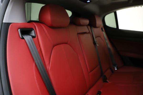 New 2021 Alfa Romeo Stelvio Q4 for sale $48,050 at Rolls-Royce Motor Cars Greenwich in Greenwich CT 06830 26