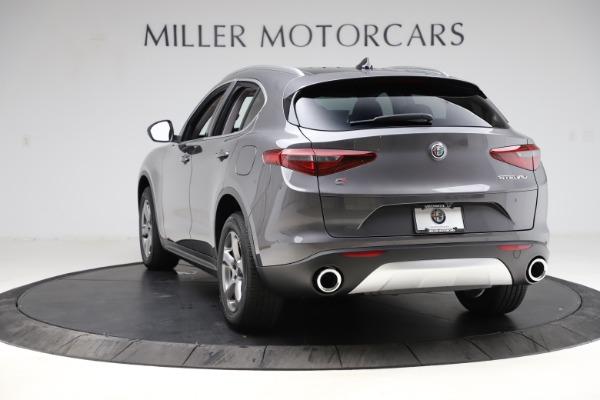New 2021 Alfa Romeo Stelvio Q4 for sale $48,050 at Rolls-Royce Motor Cars Greenwich in Greenwich CT 06830 5