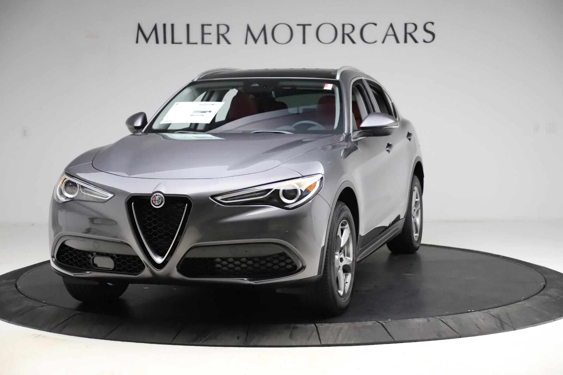 New 2021 Alfa Romeo Stelvio Q4 for sale $48,050 at Rolls-Royce Motor Cars Greenwich in Greenwich CT 06830 1