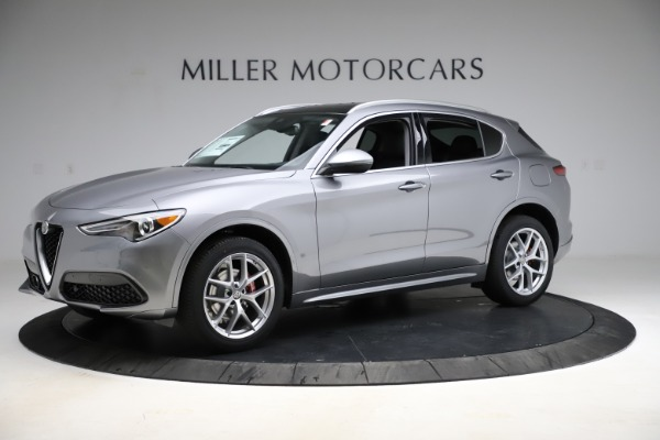 New 2021 Alfa Romeo Stelvio Ti Q4 for sale $55,900 at Rolls-Royce Motor Cars Greenwich in Greenwich CT 06830 2
