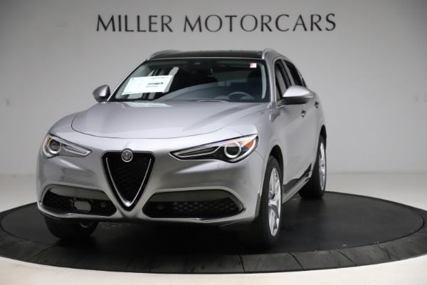 New 2021 Alfa Romeo Stelvio Ti Q4 for sale $55,900 at Rolls-Royce Motor Cars Greenwich in Greenwich CT 06830 1