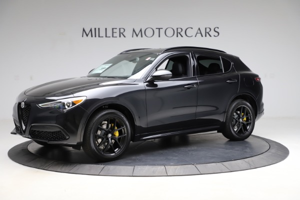 New 2021 Alfa Romeo Stelvio Ti Sport Q4 for sale $56,450 at Rolls-Royce Motor Cars Greenwich in Greenwich CT 06830 2