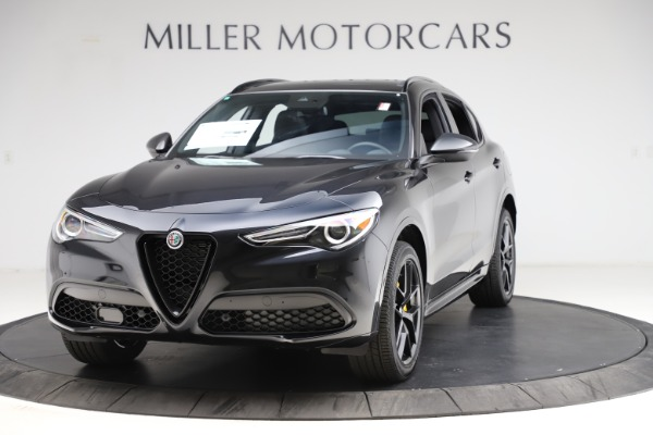 New 2021 Alfa Romeo Stelvio Ti Sport Q4 for sale $56,450 at Rolls-Royce Motor Cars Greenwich in Greenwich CT 06830 1