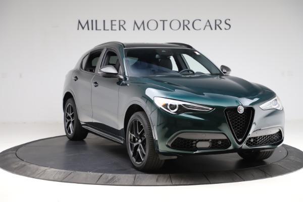 New 2021 Alfa Romeo Stelvio Ti Sport Q4 for sale $56,450 at Rolls-Royce Motor Cars Greenwich in Greenwich CT 06830 11