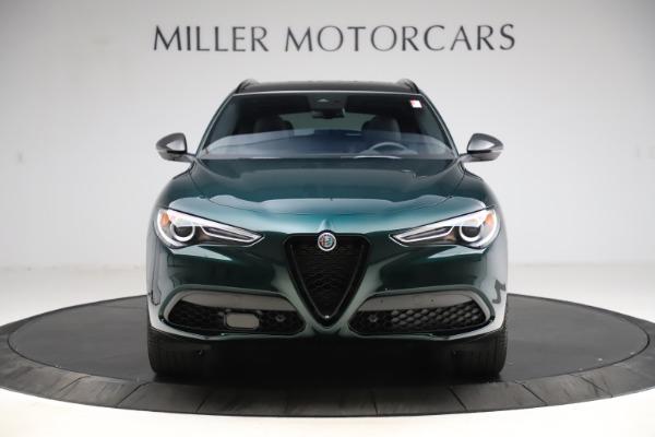New 2021 Alfa Romeo Stelvio Ti Sport Q4 for sale $56,450 at Rolls-Royce Motor Cars Greenwich in Greenwich CT 06830 12