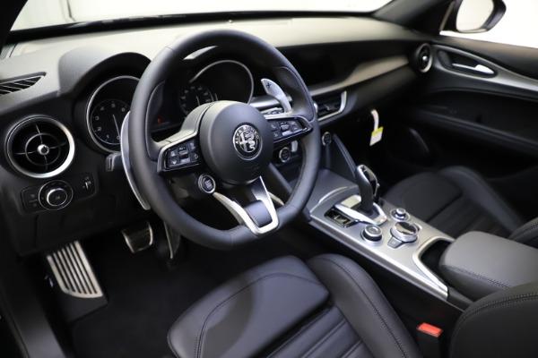 New 2021 Alfa Romeo Stelvio Ti Sport Q4 for sale $56,450 at Rolls-Royce Motor Cars Greenwich in Greenwich CT 06830 13