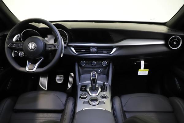 New 2021 Alfa Romeo Stelvio Ti Sport Q4 for sale $56,450 at Rolls-Royce Motor Cars Greenwich in Greenwich CT 06830 16