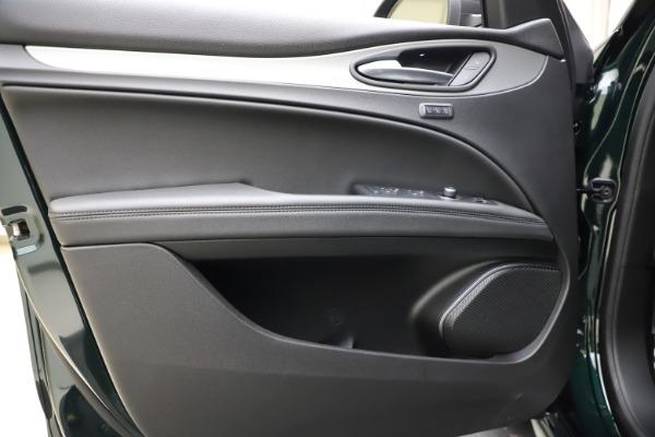 New 2021 Alfa Romeo Stelvio Ti Sport Q4 for sale $56,450 at Rolls-Royce Motor Cars Greenwich in Greenwich CT 06830 17