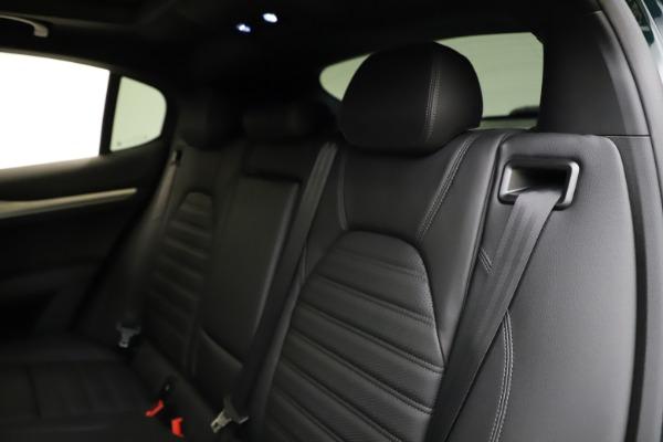 New 2021 Alfa Romeo Stelvio Ti Sport Q4 for sale $56,450 at Rolls-Royce Motor Cars Greenwich in Greenwich CT 06830 18