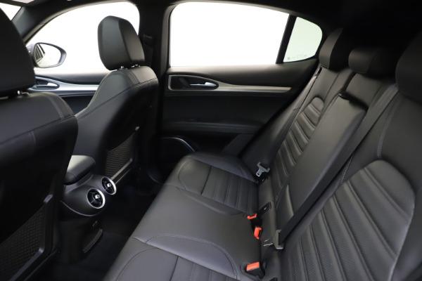 New 2021 Alfa Romeo Stelvio Ti Sport Q4 for sale $56,450 at Rolls-Royce Motor Cars Greenwich in Greenwich CT 06830 19