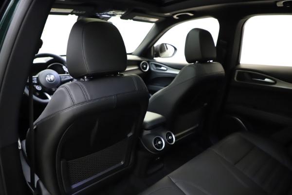 New 2021 Alfa Romeo Stelvio Ti Sport Q4 for sale $56,450 at Rolls-Royce Motor Cars Greenwich in Greenwich CT 06830 20