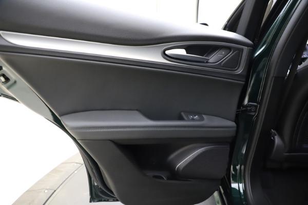 New 2021 Alfa Romeo Stelvio Ti Sport Q4 for sale $56,450 at Rolls-Royce Motor Cars Greenwich in Greenwich CT 06830 21
