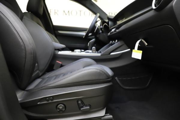 New 2021 Alfa Romeo Stelvio Ti Sport Q4 for sale $56,450 at Rolls-Royce Motor Cars Greenwich in Greenwich CT 06830 23