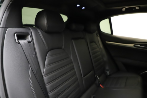 New 2021 Alfa Romeo Stelvio Ti Sport Q4 for sale $56,450 at Rolls-Royce Motor Cars Greenwich in Greenwich CT 06830 26
