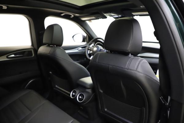 New 2021 Alfa Romeo Stelvio Ti Sport Q4 for sale $56,450 at Rolls-Royce Motor Cars Greenwich in Greenwich CT 06830 28