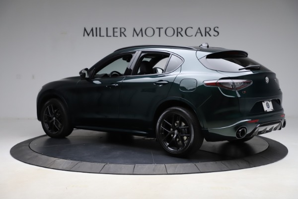 New 2021 Alfa Romeo Stelvio Ti Sport Q4 for sale $56,450 at Rolls-Royce Motor Cars Greenwich in Greenwich CT 06830 4