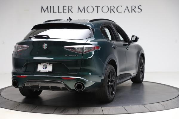 New 2021 Alfa Romeo Stelvio Ti Sport Q4 for sale $56,450 at Rolls-Royce Motor Cars Greenwich in Greenwich CT 06830 7