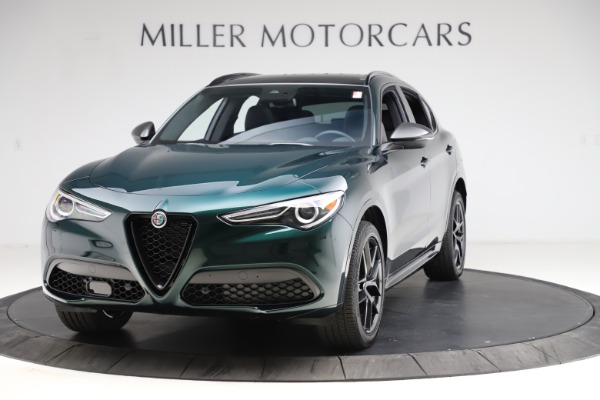 New 2021 Alfa Romeo Stelvio Ti Sport Q4 for sale $56,450 at Rolls-Royce Motor Cars Greenwich in Greenwich CT 06830 1